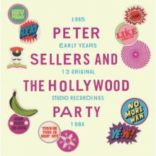 """copertina LP PETER SELLERS & THE HOLLYWOOD PARTY """"The Early Years 1985 - 1988"""""""