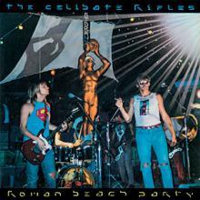 "copertina THE CELIBATE RIFLES ""Roman Beach Party"""